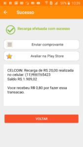 Comprovante Celcoin