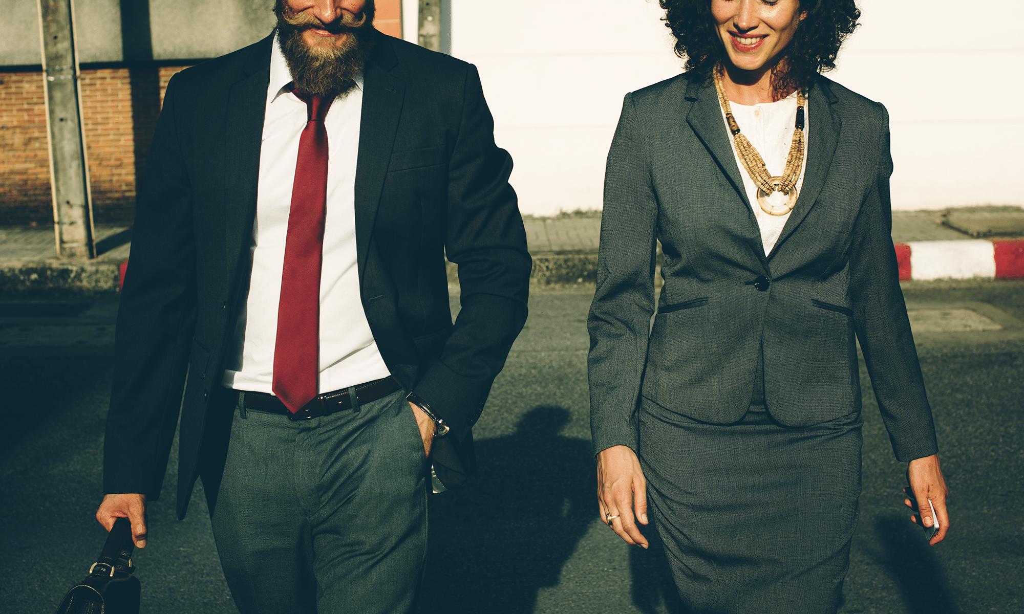 parceiros de negócio